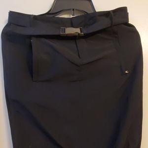 Kenneth Cole black rocker skirt